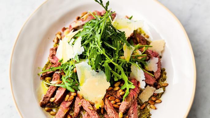 Italian seared beef