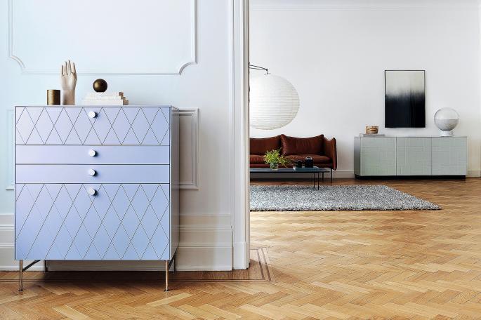 An Ikea Metod cabinet